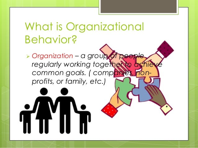 sociology and organizational behavior