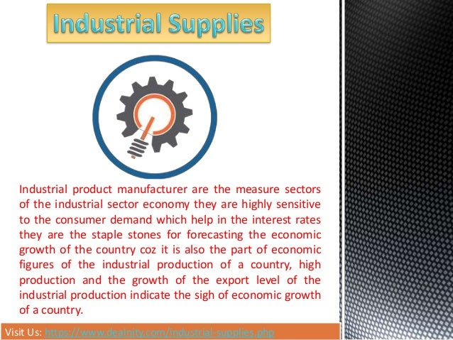 Visit Us: https://www.dealnity.com/industrial-supplies.php Industrial product manufacturer are the measure sectors of the ...
