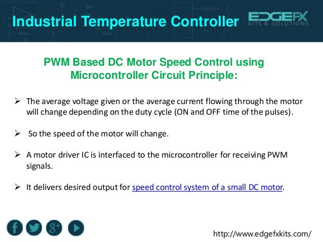 Industrial Temperature Controller using Microcontroller