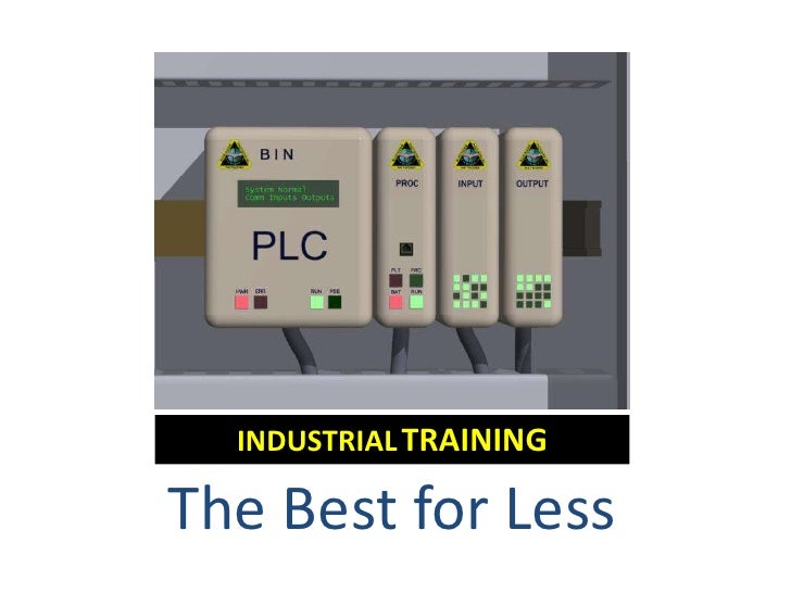 INDUSTRIALTRAINING<br />The Best for Less<br />