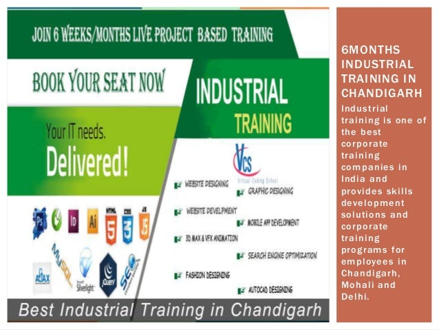 6 weeks industrial training in chandigarh Slide 3