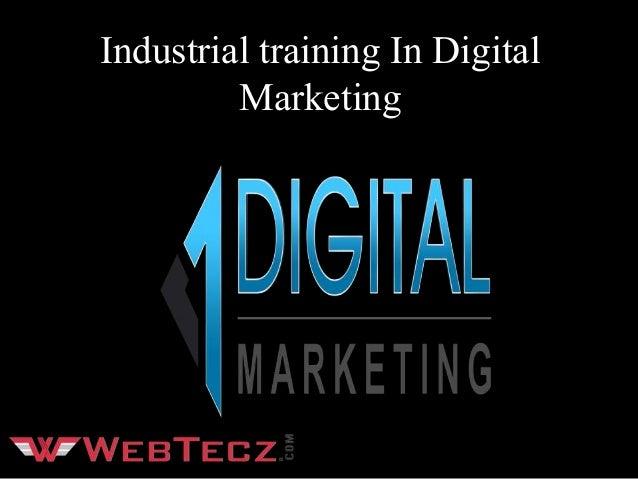 Industrial training In Digital Marketing