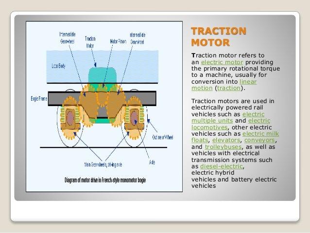 traction motor working principle pdf