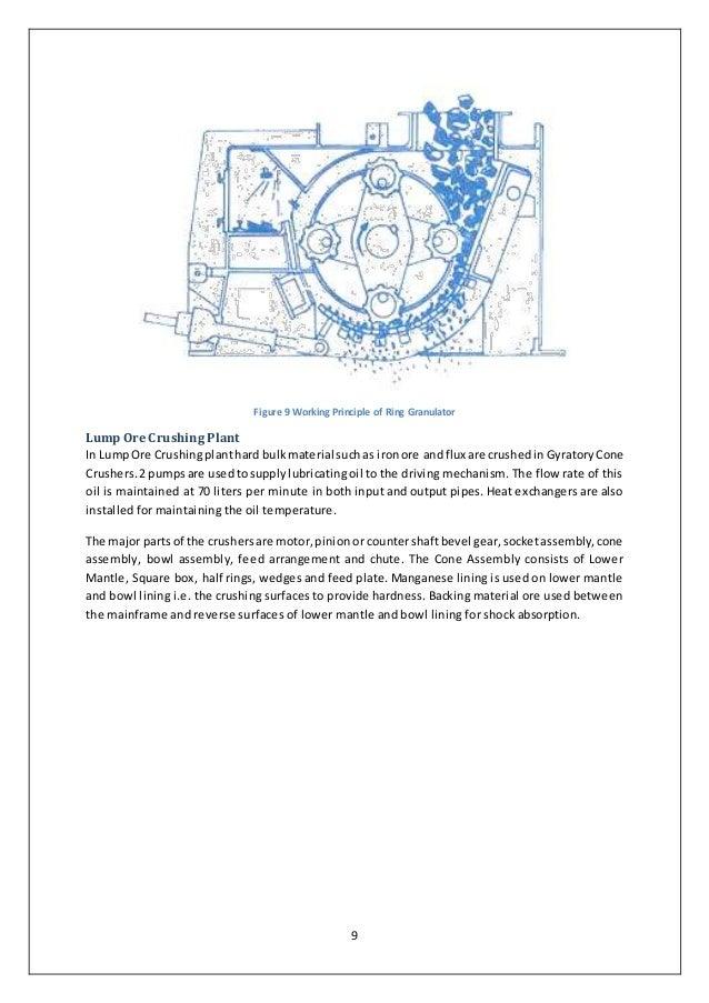 Industrial training report- Visakhapatnam Steel Plant