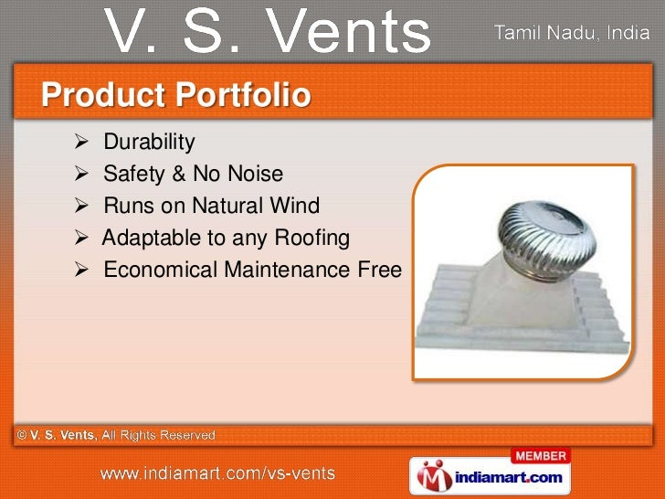 Industrial Ventilators Amp Exhaust System By V S Vents