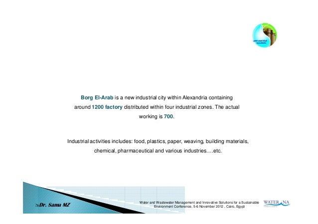 Industrialwastewatermanagementproblemsinborgel arabnewc - 웹