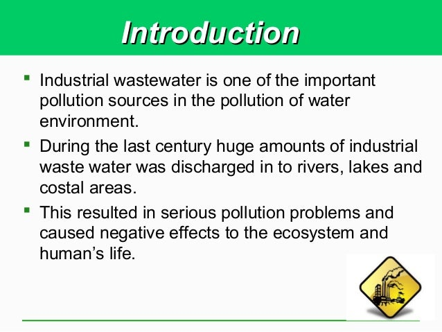 The Sources and Solutions: Wastewater