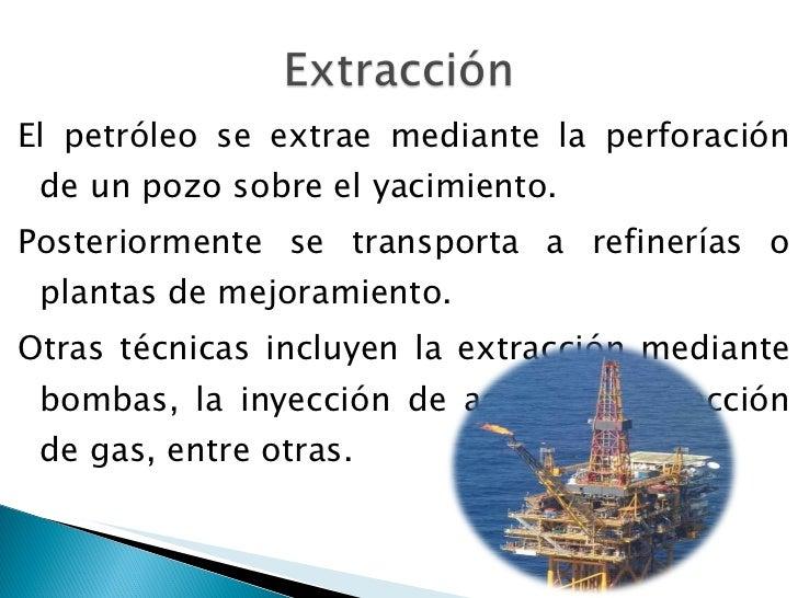 Industria petrolera for De donde se obtiene el marmol