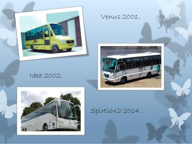 Venus 2001. Idea 2002. Spirti6x2 2014.