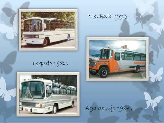 Machaca 1978. Torpedo 1982. Aga de lujo 1984.