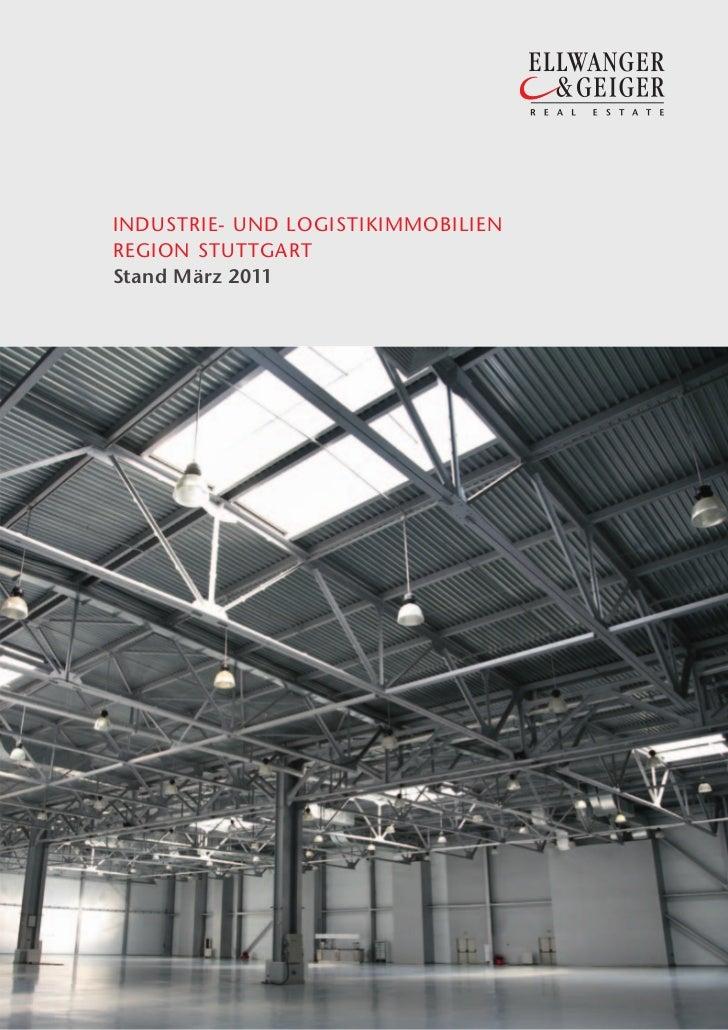 1INDUSTRIE- UND LOGISTIKIMMOBILIENREGION STUTTGARTStand März 2011