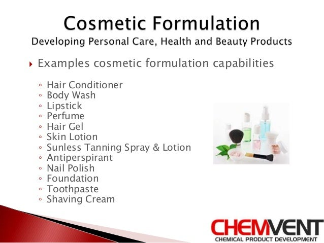 Industries for Product Formulation- Chemvent