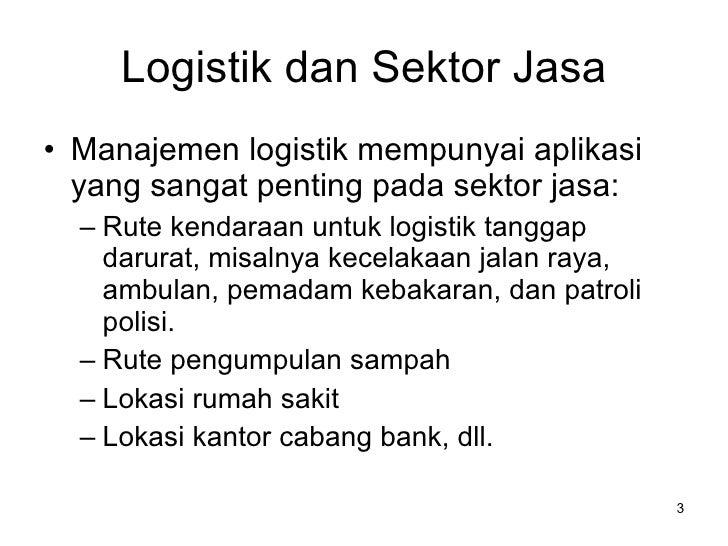 Industri Logistik Indonesia Slide 3