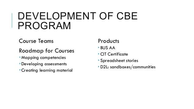 Developing an e learning training program based