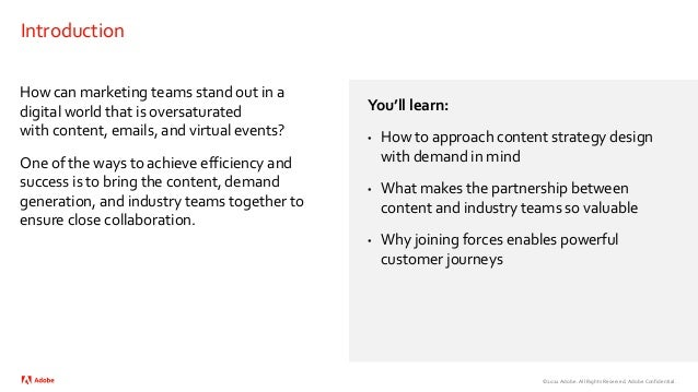 Industry Success: Bring Your Content and Demand Generation Teams Together