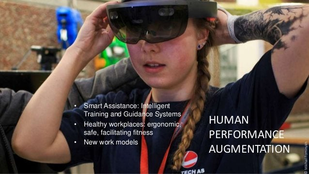 • Smart Assistance: Intelligent Training and Guidance Systems • Healthy workplaces: ergonomic, safe, facilitating fitness ...
