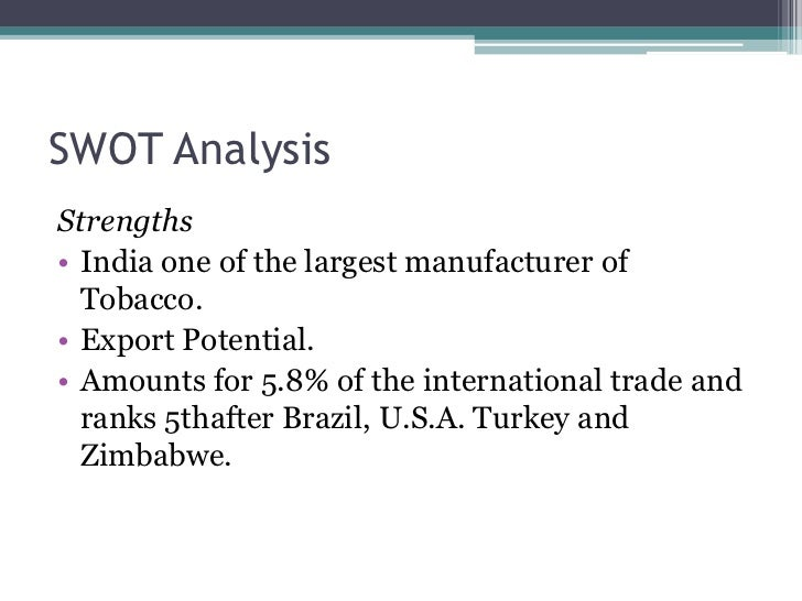 an analysis of the ethnicitiy of tobacco companies The history of tobacco and its growth throughout the world by jason young tobacco, one of the most important cash crops in american farming, is native to the north and south american continents.