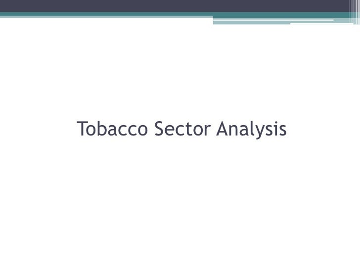 an analysis of the ethnicitiy of tobacco companies The tobacco industry comprises those persons and companies engaged in the growth, preparation for sale, shipment, advertisement, and distribution of tobacco and.