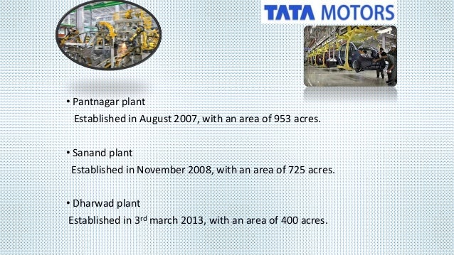 case study on tata nano plant Performance analysis of ice plant test rig using nano fluids proposing a strategy to maintain the demand of tata tiago by experimental study on tata organization & its competitor tata nano case study.