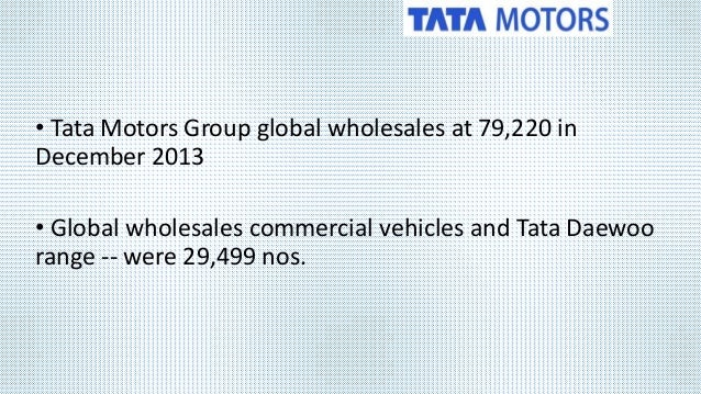 tata motors supply chain Tata project supply chain management revised purchasing policies to ensure  long term partnerships with vendors and reduced the ordering to payments cycle .