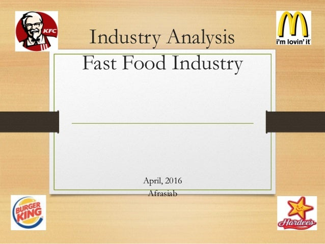 Fast Food Industry Analysis 2018 - Cost & Trends