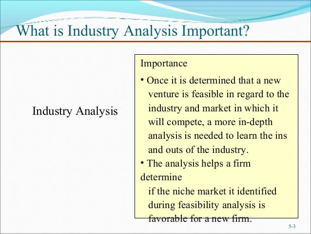 Chapter-5 Industry and competitor analysis