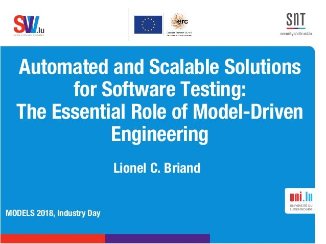 .lusoftware verification & validation VVS Automated and Scalable Solutions for Software Testing: The Essential Role of Mode...