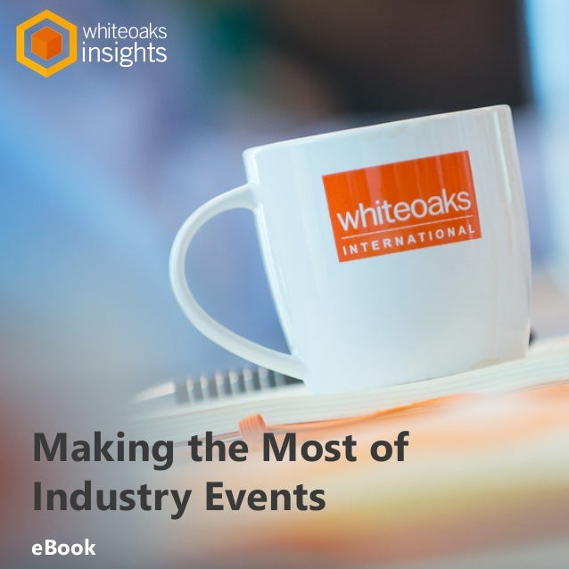 Making the Most of Industry Events eBook