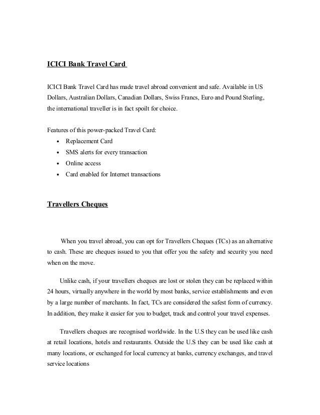 Sbi forex card