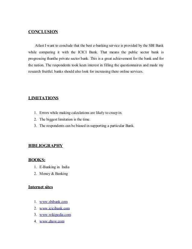 Comparitive Analysis Of Sbi Bank And Icici Bank