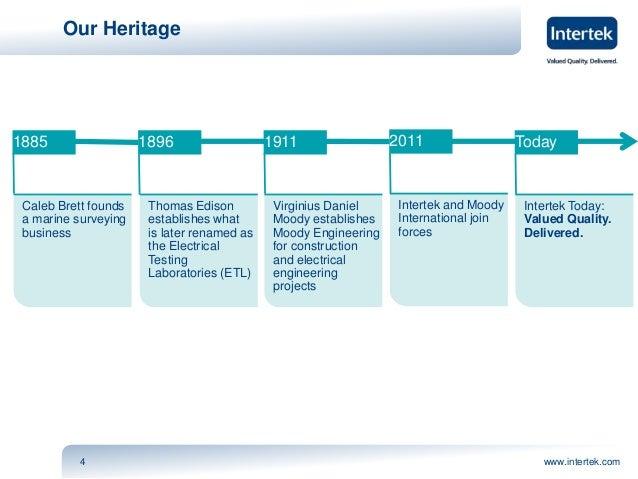 Intertek - Industry Services 2013