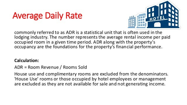 hotel industry financial ratios