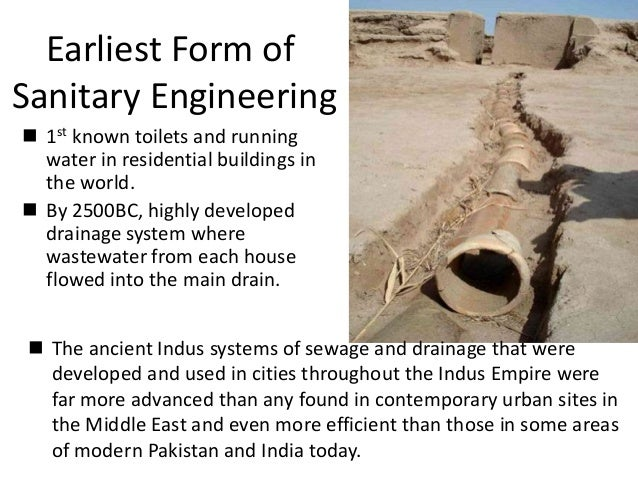 Indus valley architecture for House drainage system ppt