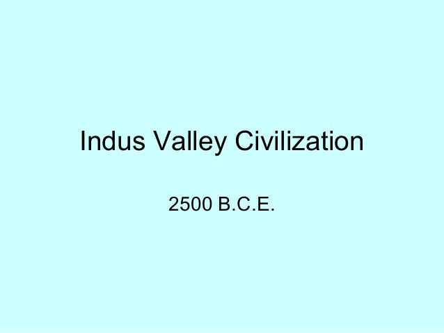 Indus valley civilization ppt