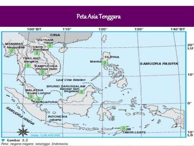 Negara Asean Tetangga 3 Peta Gambar