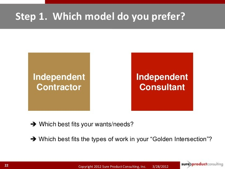 Step 1. Which model do you prefer?        Independent                                           Independent         Contra...