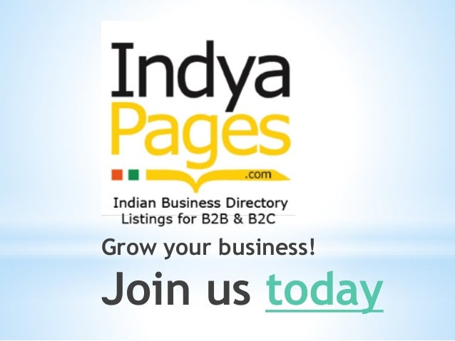 India business directory list, India business list, India
