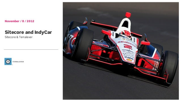 November / 8 / 2012Sitecore and IndyCarSitecore & Terralever
