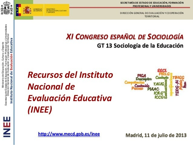 MinisteriodeEducación,CulturayDeporte SecretaríadeEstadodeEducación,FormaciónProfesionalyUniversidades DirecciónGeneraldeE...