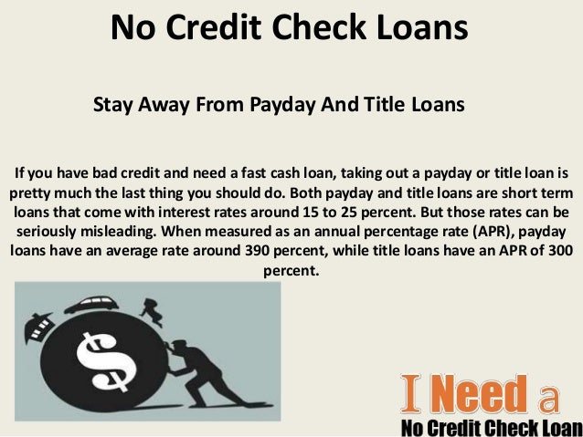 No Credit Check Loans Get Payday Loans Online Help To Solve Your Sma