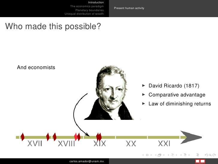 an introduction to the law of diminishing returns in economics Is this also known as the law of diminishing returns, or is that something  but  the reason why labor is interesting is labor is one of the factors of production.