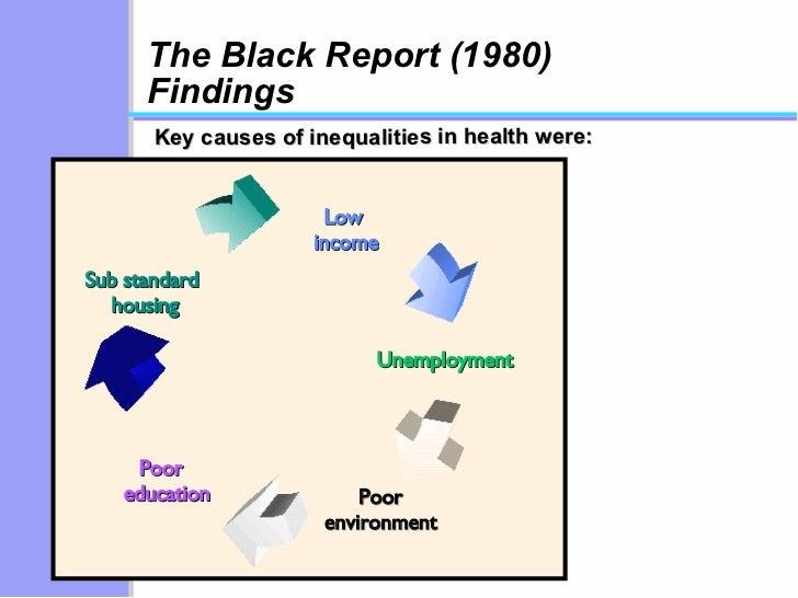 THE BLACK REPORT 1980 PDF