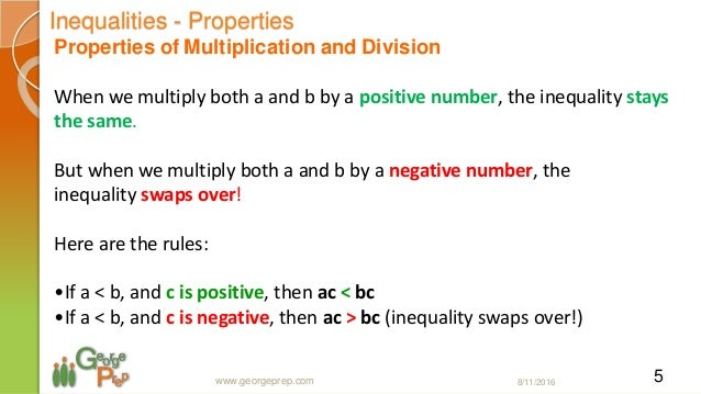 Inequalities and Modulus Session 1