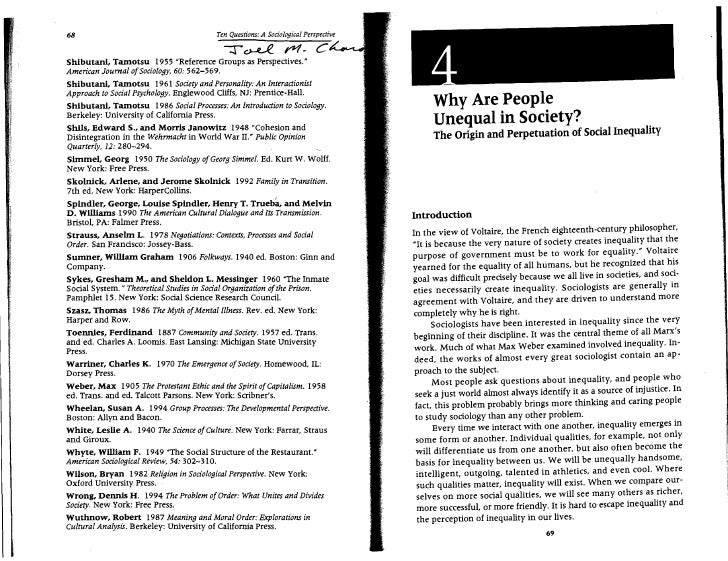 Ten Questions: A Sodological Perspective           68                                                     T ~ rquot;1~ C~ ...