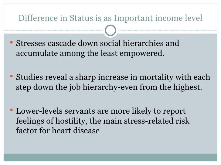 social class and health inequalities essays