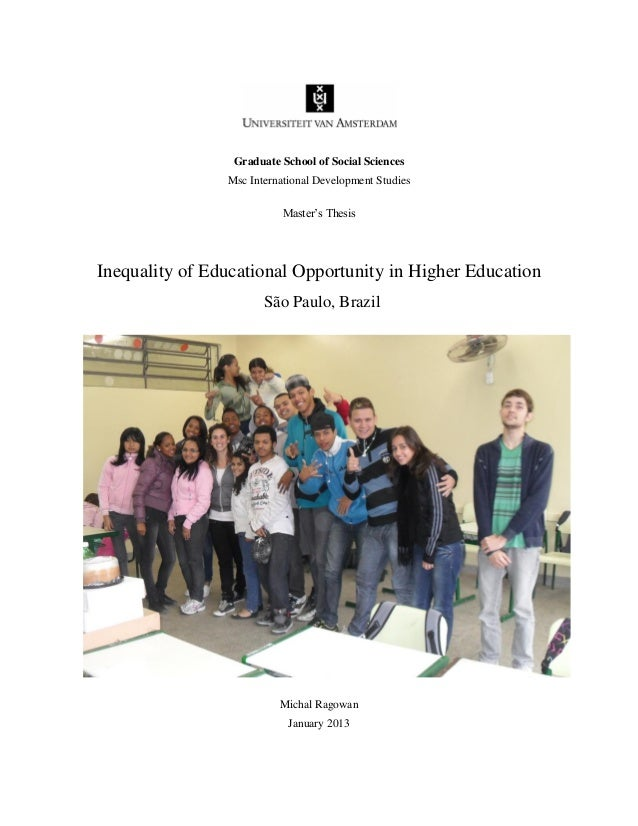 Graduate School of Social Sciences                Msc International Development Studies                           Master's...