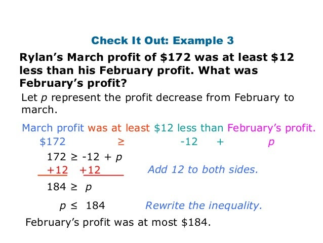 Inequality word problems – System of Inequalities Word Problems Worksheet