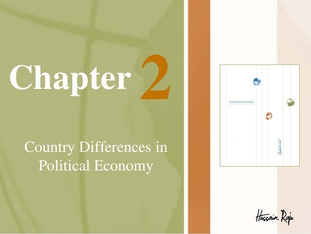 Chapter  2  Country Differences in Political Economy