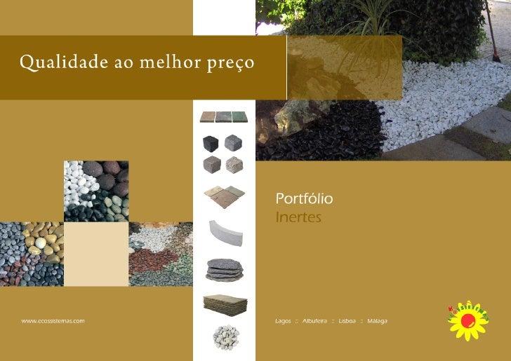 Inertes e tipos de pavimentos - Tipos de pavimentos ...