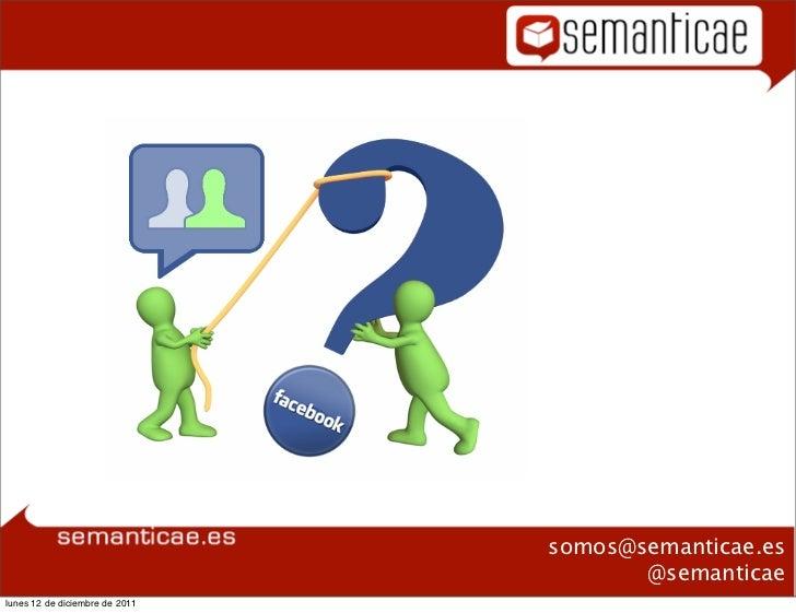 Plan formativo                                   Facebook                                                 somos@semanticae...